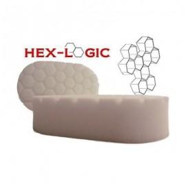 "Hex Logic White ""Polishing"" Hand Applicator Pad"