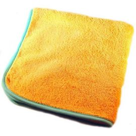 Orange Plush Drying Towel