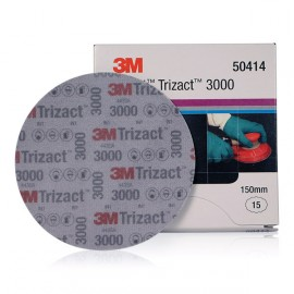 3M Trizact 3000 Fine Finishing Disc 150mm