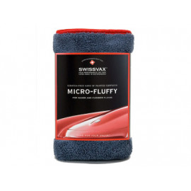 Micro Fluffy anthracite/rouge