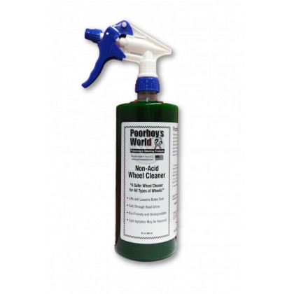 Non Acid Wheel Cleaner