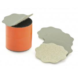 Marguerites ponçage GRIP (velcro) x10  Grain de Ponçage-3000