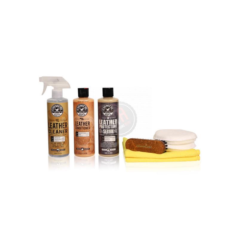 Kit nettoyage et entretien cuirs