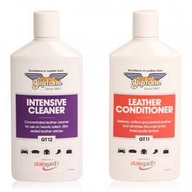 Gliptone Nettoyant + Conditioner Cuirs