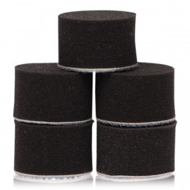 "Pack 5 Nano pads Flexipads Black 1.25"" (32mm)"