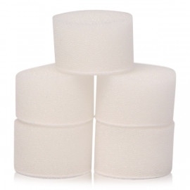 "Pack 5 Nano pads Flexipads White 1.25"" (32mm)"