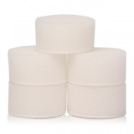 "Pack 5 Nano pads Flexipads White 1.6"" (40mm)"