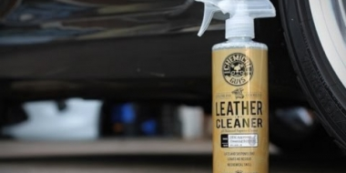 Leather Cleaner - Chemical Guys (test - nettoyage des cuirs)